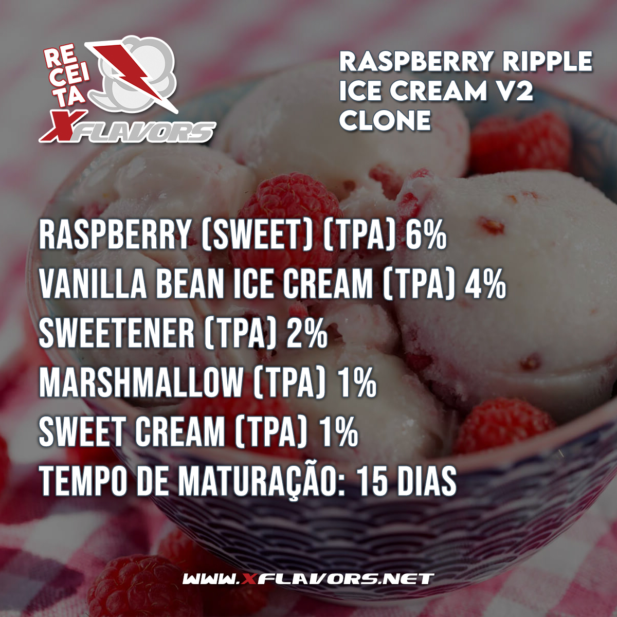 Raspberry Ripple Ice Cream (Clone) - TPA
