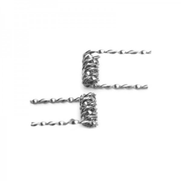 Mix twisted Coil 0,23ohm SS316l
